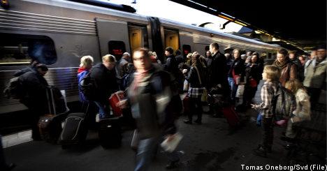 Swedes slam service at rail company SJ