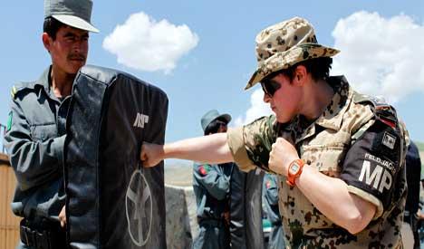 Germany to focus on training in Afghanistan, Merkel says