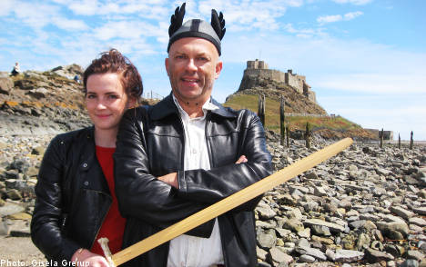Swedish TV show probes growth of English