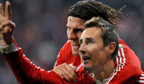 Bayern's Klose hits World Cup form