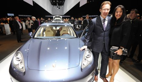 Porsche turns corner after terrible year