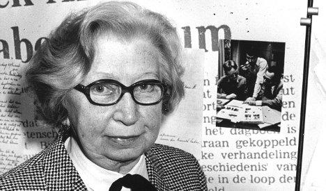 Anne Frank's helper Miep Gies dies