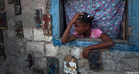 Swede gives millions to help Haiti children
