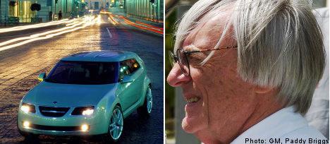 Formula One boss submits new Saab bid