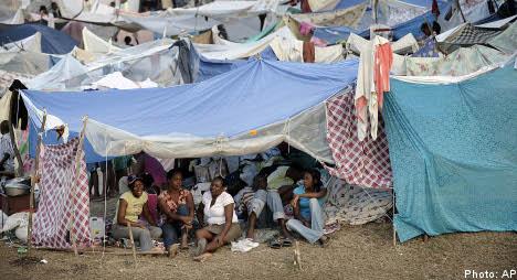 Millions in Swedish aid headed to quake-hit Haiti