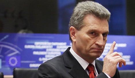 Oettinger faces anti-Semitism accusations at EU hearings