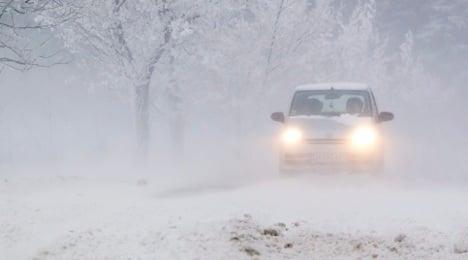 Winter storm freezes nation's transport