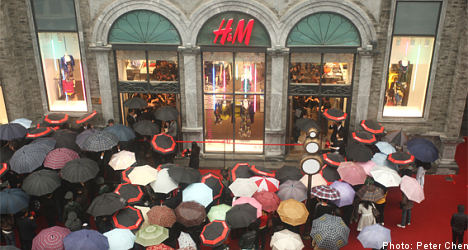 H&M to open more stores on strong 2009 profits