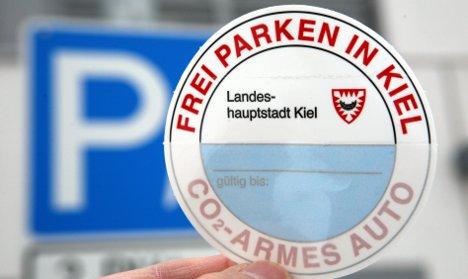 Kiel offers free parking for low-emission cars