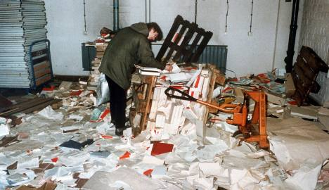 Thousands mark moment when Stasi lost control
