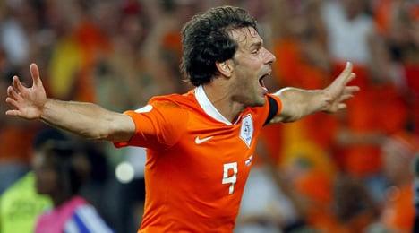 HSV signs legendary Dutch striker van Nistelrooy