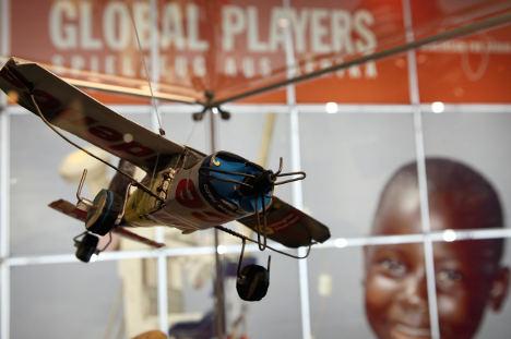 Young adventurers ditch kindergarten for Africa