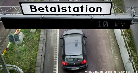 Gothenburg congestion charges get green light