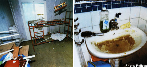 Prison for mum who cut kids with glass and nails