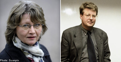 'Partner may have written Millennium books'