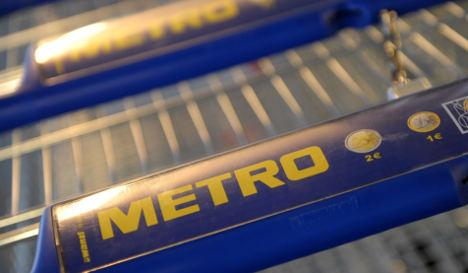 Metro sales dip on strong euro