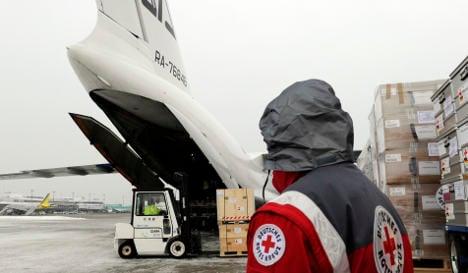 German mobile hospital heads for Haiti