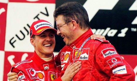 Mercedes shows off 'Brawny' Schumacher