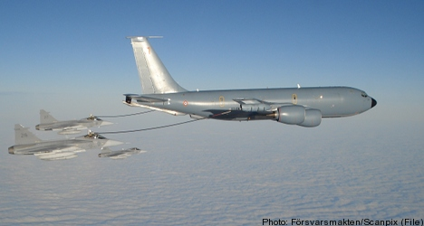 Military salute for Saab in Brazil fighter jet deal