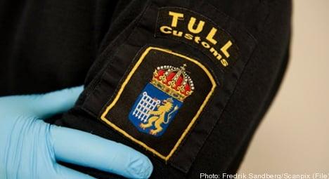 Swedish customs crack cocaine gang plan