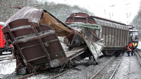 Freight train wreck disrupts Rhineland high-speed rail links