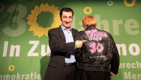 Green party celebrates 30th anniversary