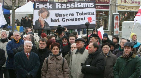 'Mile of Democracy' opposes neo-Nazi march in Magdeburg