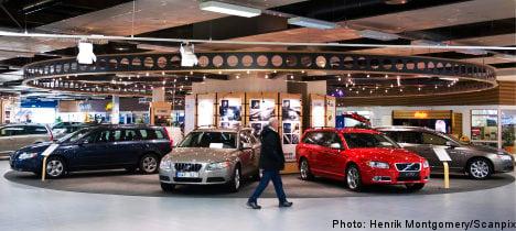 Sweden's car sales rev up in December