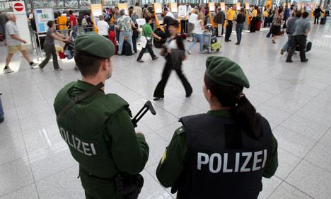 Munich airport bomb scare sparks manhunt