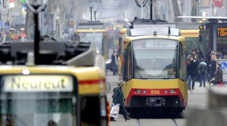Policeman killed in Karlsruhe tram collision