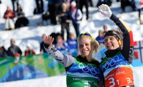 German women take gold in cross country relay