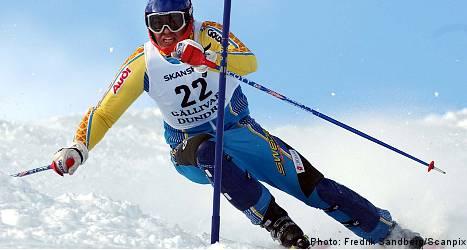Sweden grabs slalom bronze