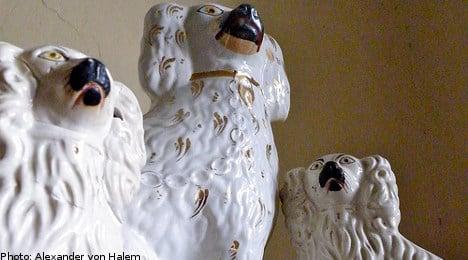 Swedish pensioner hid drugs in porcelain dog