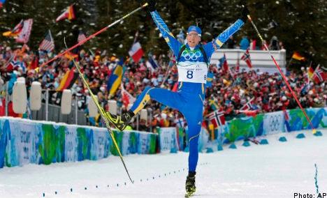 Eagle eye Ferry strikes Olympic gold