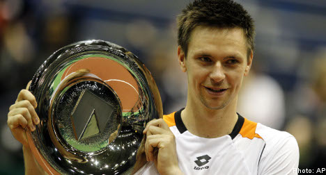 Söderling sets sights on top 5 after Rotterdam win