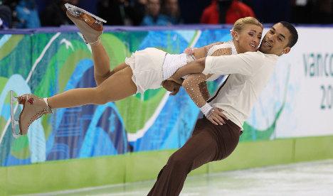 Germany takes skating bronze despite fall