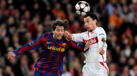 Scrappy Stuttgart manages draw against Barcelona