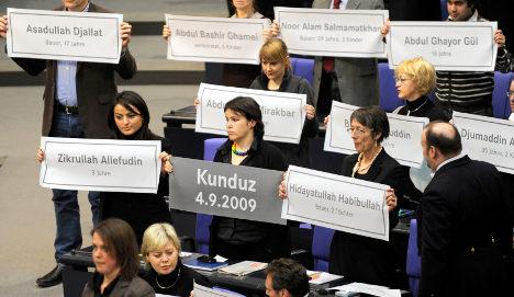 Bundestag backs Afghan troop boost amid protest
