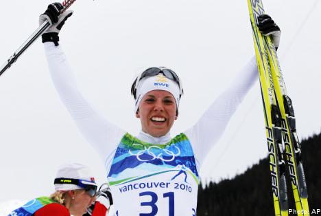 Classy Kalla claims first Swedish gold