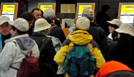 Airports reel as Lufthansa pilots strike