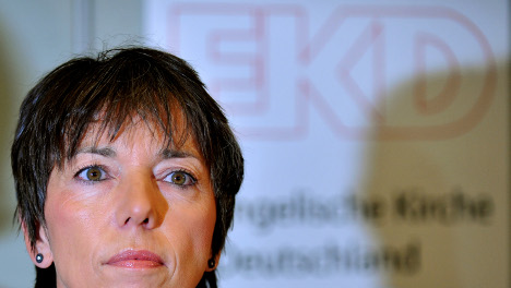 Church leader Käßmann resigns for driving drunk