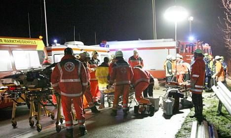 Six dead after German tour bus crash in Austria