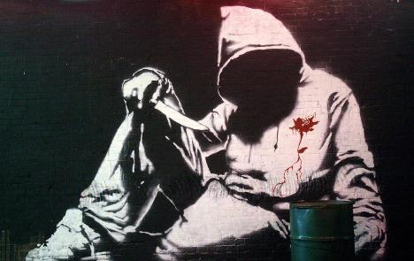 Artist Banksy keeps Berlin guessing