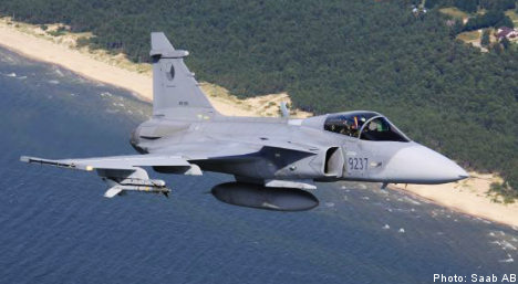 Defence firm Saab returns to profitability
