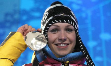 Neuner takes silver in Olympics biathlon