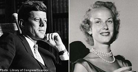 John F Kennedy love letters to Swedish siren up for auction