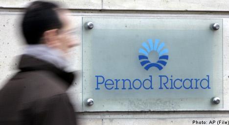 Pernod Ricard sells off Swedish brands