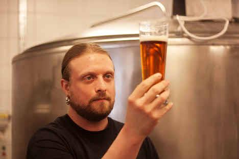 Hard rocking beer man: 'I brew in A Major'