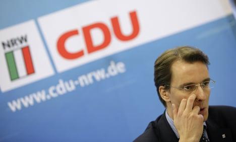 Rhineland CDU official resigns over influence peddling affair
