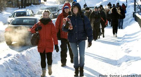 Reinfeldt dismayed by transport freeze